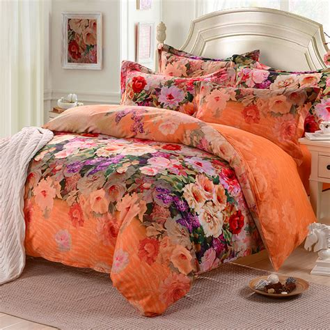 hibiscus comforter set pastoral hibiscus flower bedding comforter set 100 cotton