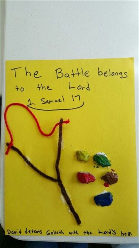 david and goliath crafts 24 best images about sunday school 2 3 year olds on