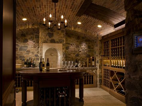 wine cellar chandelier wine tasting table wine cellar mediterranean with brick