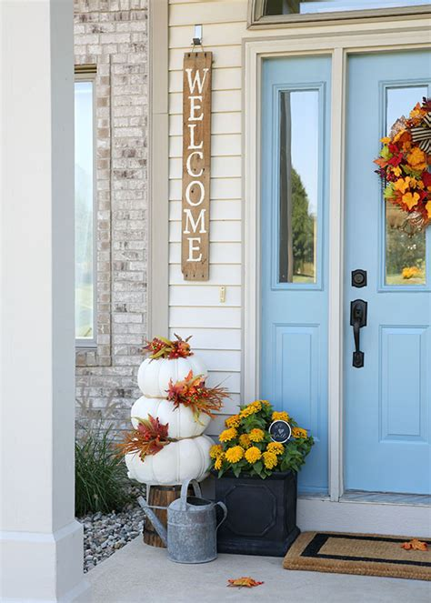 decoration front door home design ideas fall front door decorations when should