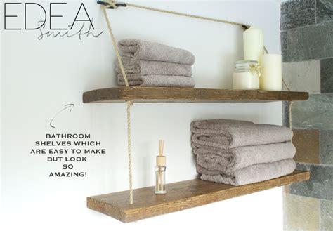 bathroom shelves uk diy reclaimed wood bathroom shelves edea smith