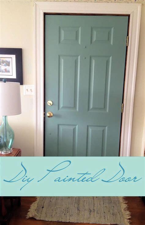 interior door painting ideas diy painted door in progress