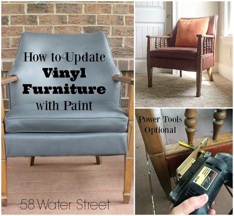 spray painting vinyl furniture 17 best images about painting leather vinly furniture on