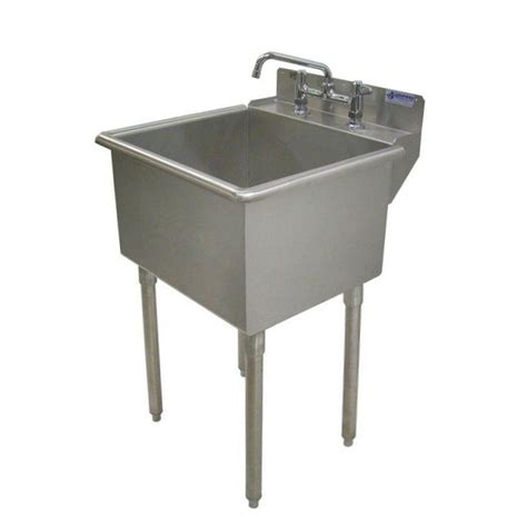 stainless steel laundry room sink fiat 23 in x 21 1 2 in wall mount laundry sink l1100