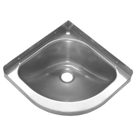 lavabo d angle inox pour cuisine et salle de bain 233 quipement sanitaire