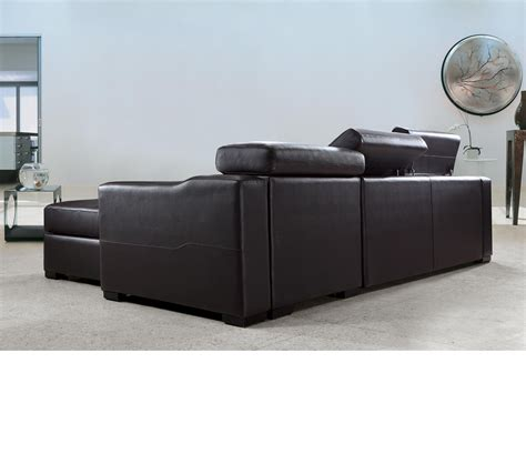 black sectional sofa bed leather sectional sofa bed coffee brown faux leather