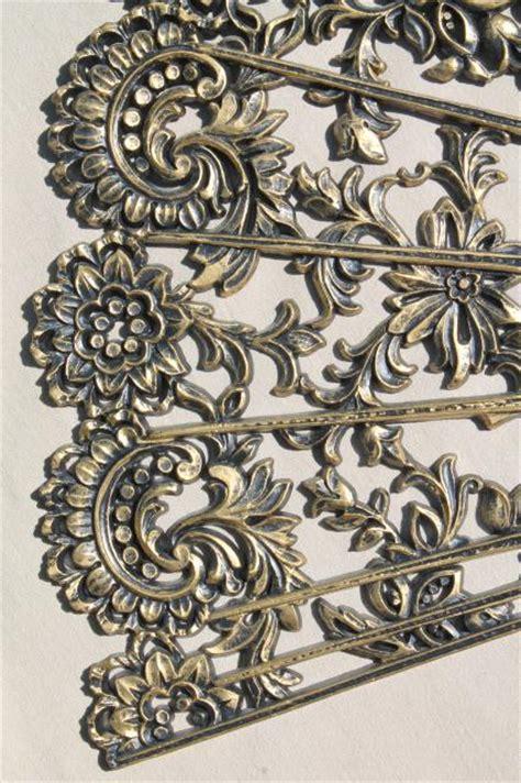 Kitchen Furniture Images huge spanish fan in black amp gold plastic vintage burwood