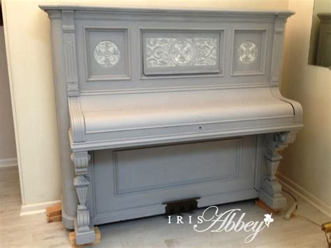 chalk paint piano an antique piano and sloan chalk paint iris