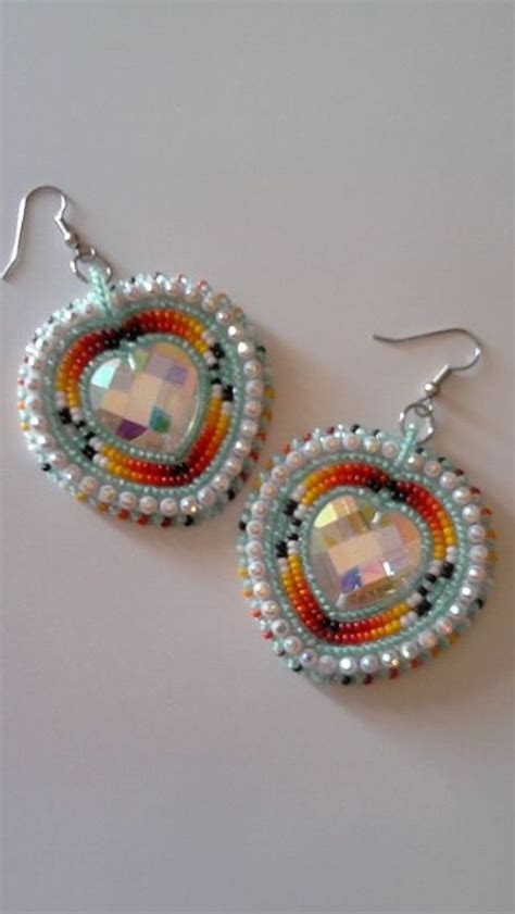 beaded earrings american 398 best beadwork that rocks images on
