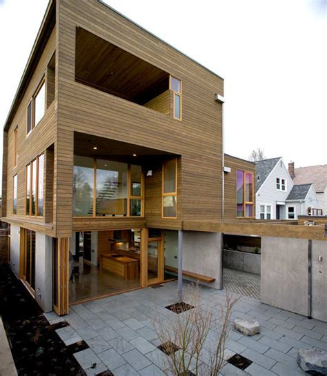 portland woodworking a sense of volume and for wood modern house in portland
