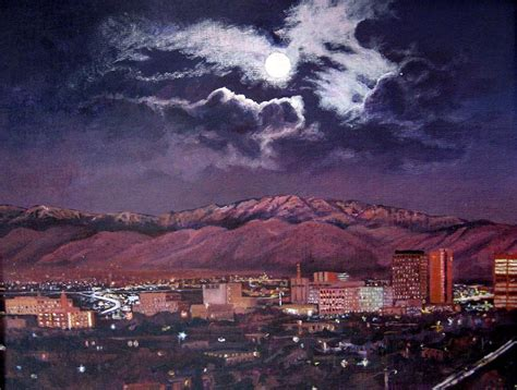 paint nite in albuquerque albuquerque new mexico skyline at painting