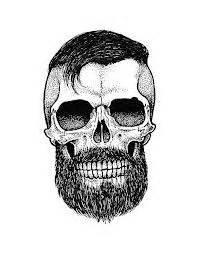 skull beard skull with beard search