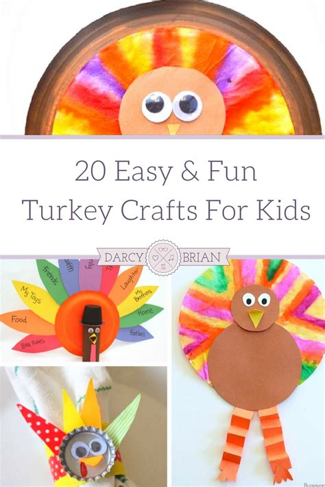 easy turkey crafts for 28 easy turkey crafts for 20 of the best