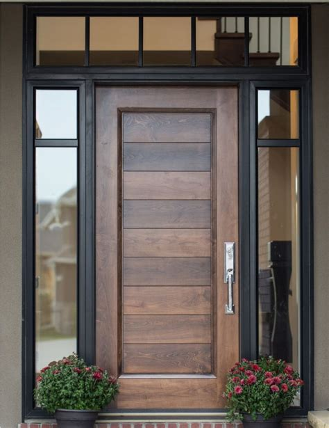 exterior front doors wood best 25 wood front doors ideas on diy