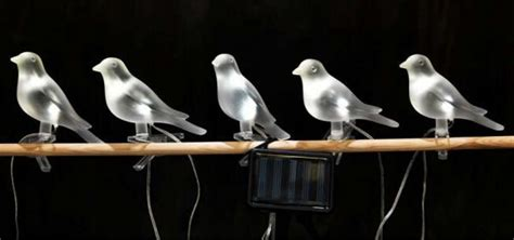 bird lights ikea light collection powered by sun and wind treehugger