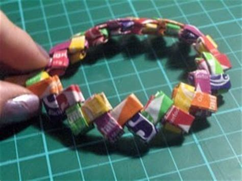 origami with starburst wrappers wrapper bracelet 183 how to weave a wrapper bracelet