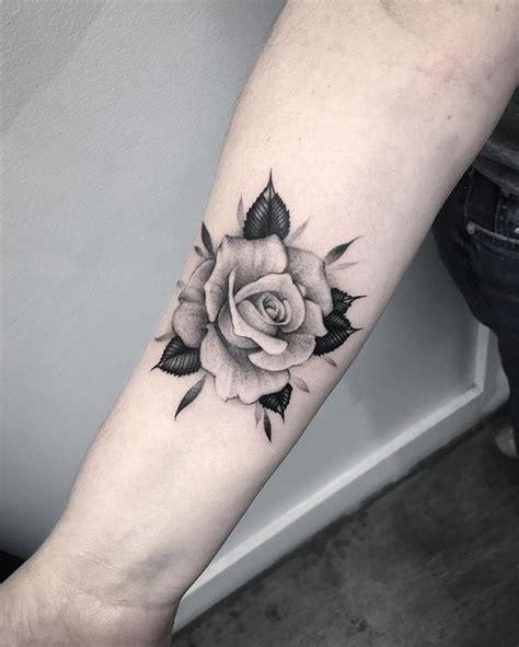 download rose tattoo no shading danielhuscroft com