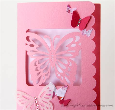 butterfly cards to make easy handmade butterfly card cjmeyer designs