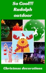 rudolph the nosed reindeer outdoor decorations rudolph outdoor decorations