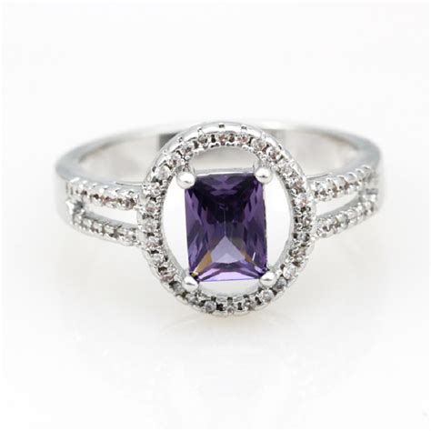 accessories for jewelry classic square accessories for jewelry purple rings for