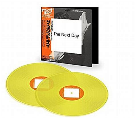 next day rubber sts cdjapan david bowie the next day limited release 2lp