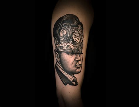 unusual portraits by master tattooer pietro sedda