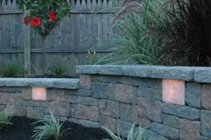 garden wall lights kerr lighting garden wall retaining wall lights sek