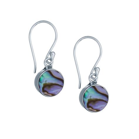 how to make abalone jewelry sterling silver abalone shell accent earrings landing