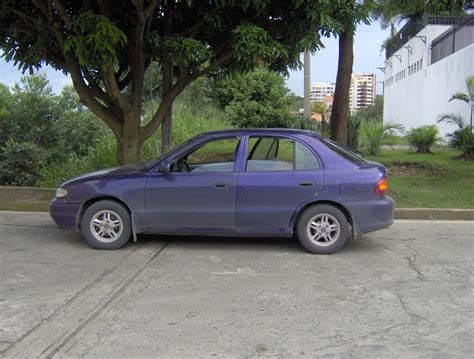 Hyundai Accent 1995 by 1995 Hyundai Accent I Hatchback Pictures Information