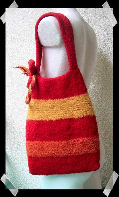 free knitting patterns for bags friendsheep free patterns felted knitting bag