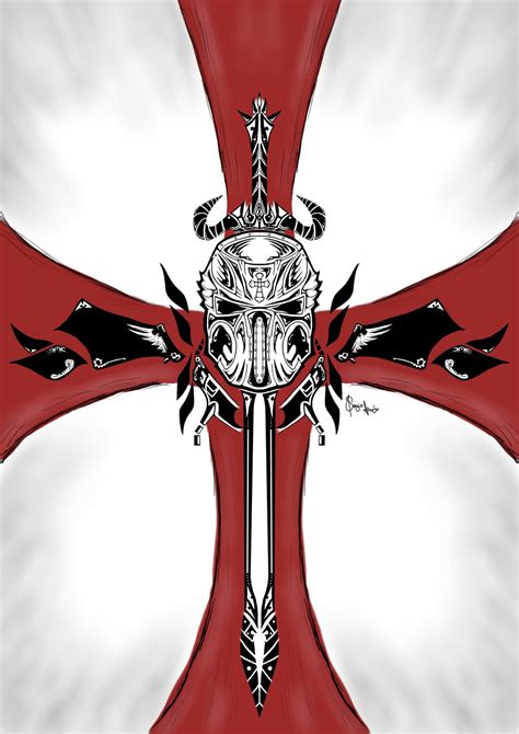 crusader tattoo by dags88crusader on deviantart