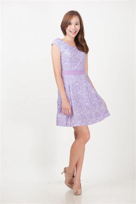a dress lilac lace prints dress divalavie dresses office work
