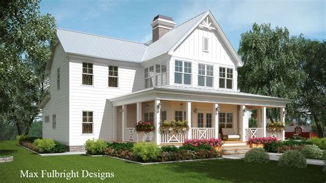 farmhouse floor plans with pictures 2 story house plan with covered front porch