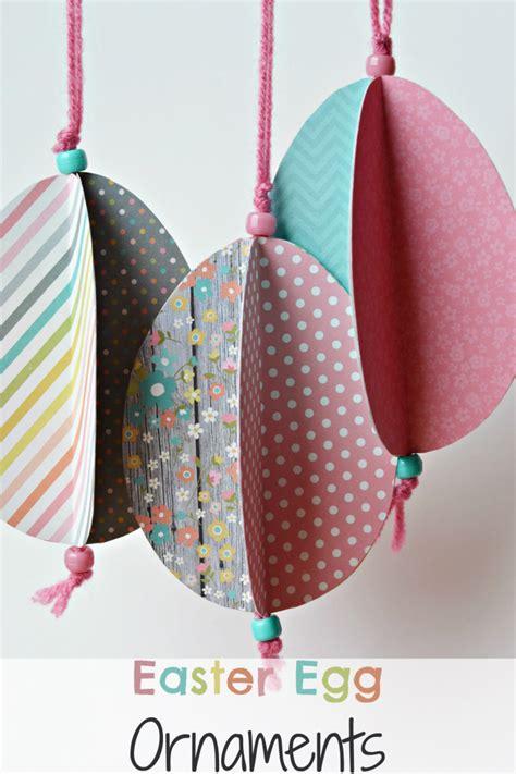 easter egg paper crafts the of easter egg ornament craft