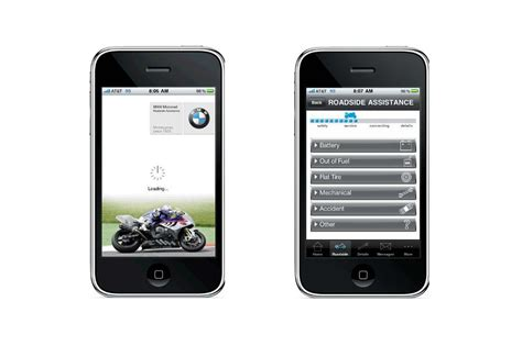 Bmw Road Assistance by Bmw Motorcycles Launches Roadside Assistance Iphone App