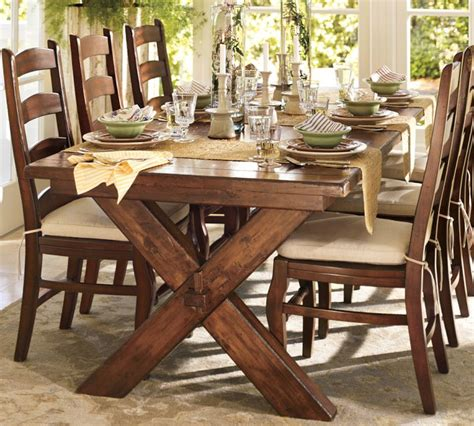 dining room table pottery barn why you should always listen to pottery barn a bench