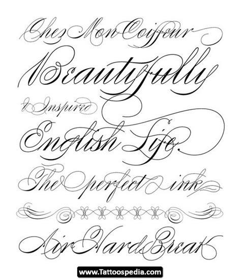 tattoo cursive fonts 07