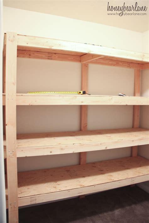 heavy duty storage shelves diy storage shelves honeybear