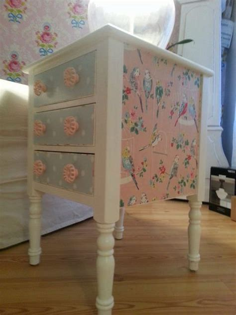 wrapping paper decoupage furniture best 25 decoupage furniture ideas on how to
