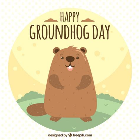 groundhog day used to something groundhog vectors photos and psd files free