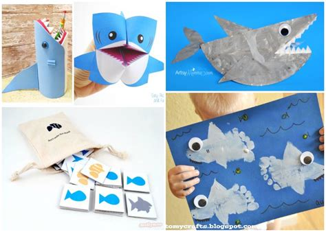 25 Shark Crafts And Activities For Shark Week