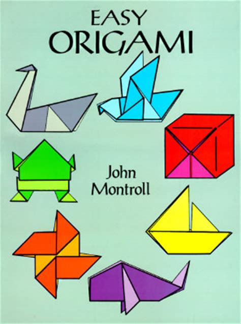 simple origami shapes easy origami by montroll