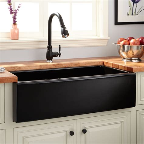 kitchen apron sinks 36 quot dorhester fireclay reversible farmhouse sink smooth