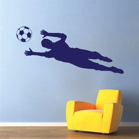 soccer wall stickers soccer goalie wall decal sticker sport murals trendy