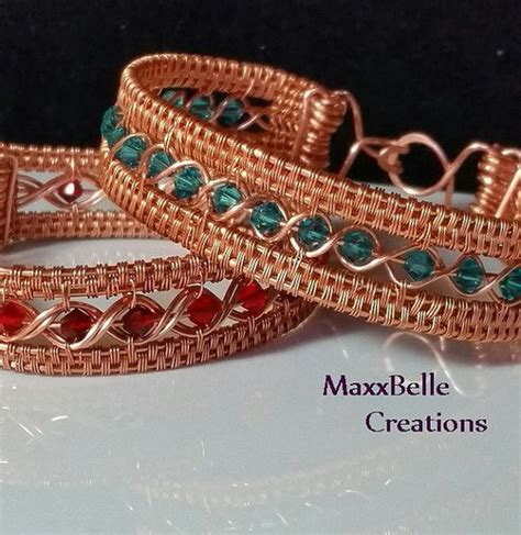 how to make wire weave jewelry a well copper and bracelets on