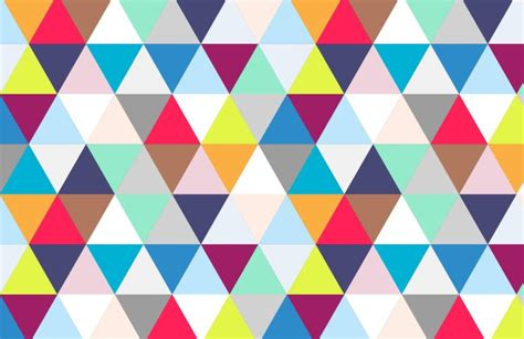 Create Your Own Bedroom multicoloured triangles wallpaper muralswallpaper co uk