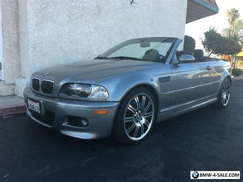 Bmw M3 Convertible For Sale by 2006 Bmw M3 Convertible For Sale In United States