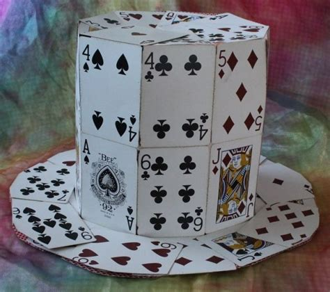 how to make a hat out of card how to make a hat out of cards all