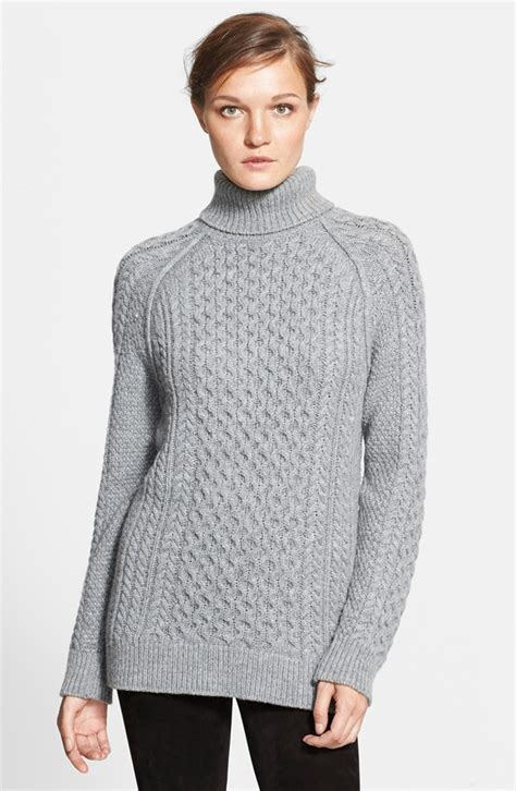 knit turtleneck sweater vince cable knit turtleneck sweater nordstrom