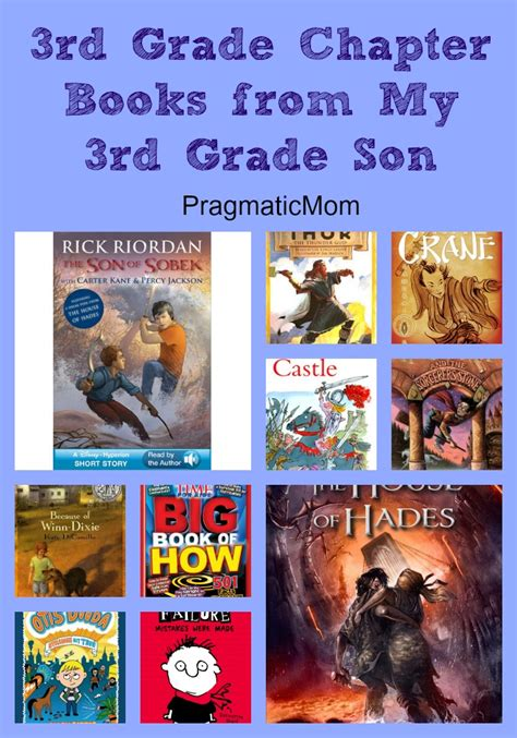 picture books for third graders 3rd grade chapter books from my 3rd grade pragmaticmom